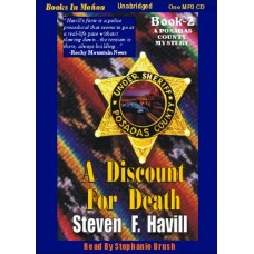A DISCOUNT FOR DEATH, download, by Steven F. Havill, (Posadas County Mystery Series, Book 2), Read by Stephanie Brush