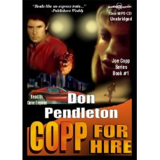 COPP FOR HIRE, download, by Don Pendleton, (Copp Series, Book 1), Read by Gene Engene
