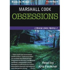 OBSESSIONS, download, by Marshall Cook, (Monona Quinn Series, Book 4), Read by Kris Faulkner