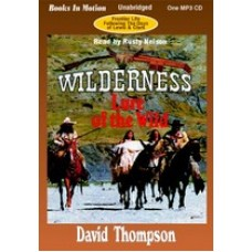 LURE OF THE WILD, download, by David Thompson, (Wilderness Series, Book 2), Read by Rusty Nelson