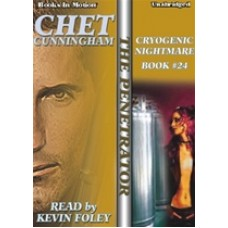CRYOGENIC NIGHTMARE, download, by Chet Cunningham, (The Penetrator Series, Book 24), Read by Kevin Foley
