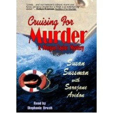 CRUISING FOR MURDER, download, by Susan Sussman And Sarajane Avidon, Read by Stephenie Brush