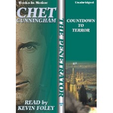 COUNTDOWN TO TERROR, by Chet Cunningham, (The Penetrator Series, Book 18), Read by Kevin Foley