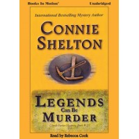 LEGENDS CAN BE MURDER, download, by Connie Shelton (A Charlie Parker Mystery Series, Book 15) Read by Rebecca Cook