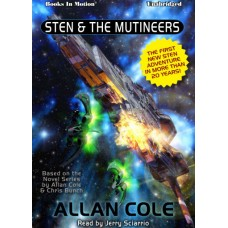 STEN AND THE MUTINEERS, download, by Allan Cole, Read by Jerry Sciarrio