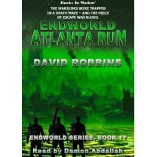 ENDWORLD: ATLANTA RUN, download, by David Robbins (Endworld Series, Book 17), Read by Damon Abdallah