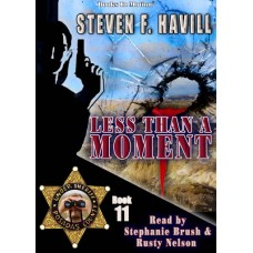 LESS THAN A MOMENT, download, by Steven F. Havill (Posadas County Mystery Series, Book 11), Read by Stephanie Brush and Rusty Nelson