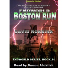 ENDWORLD: BOSTON RUN, download, by David Robbins (Endworld Series, Book 21), Read by Damon Abdallah
