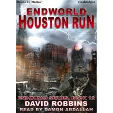 ENDWORLD: HOUSTON RUN, by David Robbins, (Endworld Series, Book 12), Read by Damon Abdallah